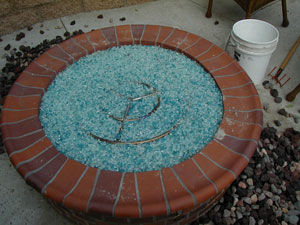 Firepit Burner Rings for Outdoor Natural Gas Firepits