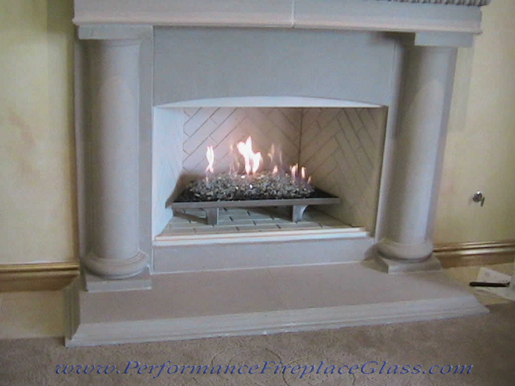 Elegant Glass For Your Fireplace Fireplace Glass And More